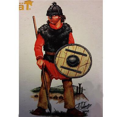 24 Soldados Sajones 4 Pose HAT 6006 Saxons 1:72 Figura Miniaturas de...