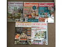 Home magazines x5 bundle