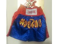 NEW-THAIBOXING- Fight Shorts MMA Grappling Kick Boxing Trunks Martial Arts