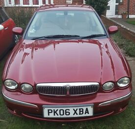 Jaguar X-type 2.0L Diesel burgundy, cream leather, 157k, offers accepted Jag x type