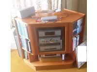 Sony HI FI with speakers, tuner, dvd player, twin cassette deck etc