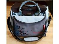 Good condition babymoov brown and cream changing bag