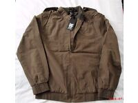 MEN'S FENCHURCH CASUAL JACKET, NEW LABELS STILL ATTACHED, SIZE MEDIUM