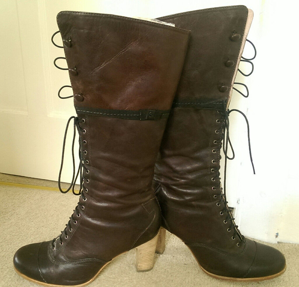 Timberland leather boots shoes size 7UK 40EU