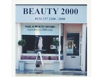 Beauty Therapist required. Experienced and enthusiastic. 20hrs per week, over a Thur, Fri, sat.