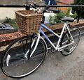 Ladies Raleigh pioneer vintage bike with wicker basket