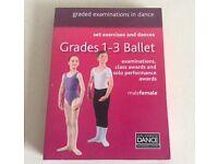 ROYAL ACADEMY OF DANCE GRADES 1-3 DVD'S