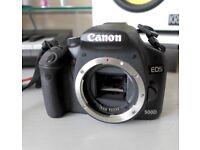 Canon EOS 500D / Rebel T1i 15.1MP Digital SLR Camera - Black (Body Only)