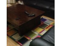 Beautiful Solid rosewood coffee table for sale
