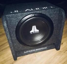 JL Audio car Subwoofer & Amplifier for sale