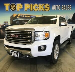 2017 GMC Canyon SLT, Crew Cab, 4x4, Accident Free, Certified!