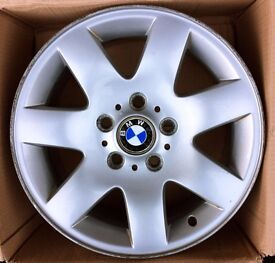 BMW alloy wheels E46 3-series set of 4: 205 55 16