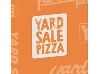 YARD SALE PIZZA: FOH Star for expanding pizza parlour, E5.