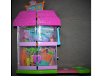 Polly Pocket Beach Villa Diner