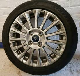 Ford Fiesta Titanium 15 Spoke Alloy Wheel