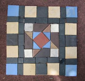 Original reclaimed Victorian floor tiles -home or garden. 2nd lot.