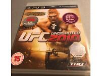 PS3 game ufc 2010