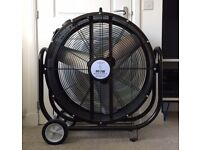 High Velocity 240v Industrial Drum Fan 76 cm