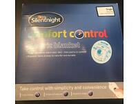 (Brand New) Silent Night Single Electric Blanket