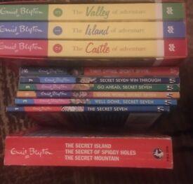 Enid Blyton Adventure series and Secret Seven