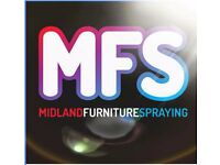 Midland Furniture Spraying - don't replace respray!