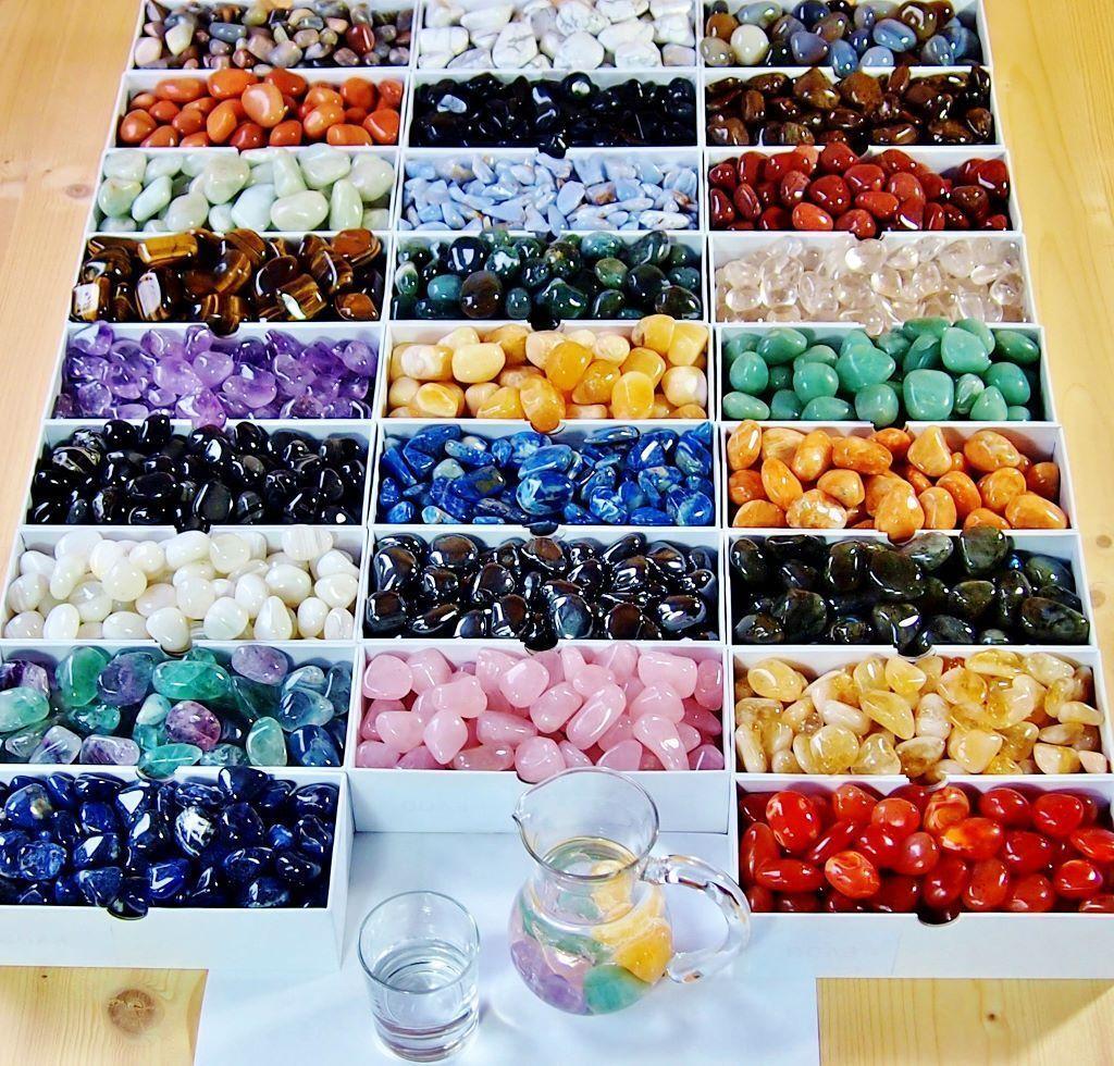 XL Premium Trommelsteine aus aller Welt viele Sorten Heilsteine Edelsteine