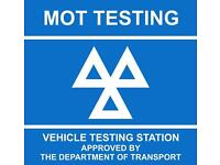 Mot tester seeks part-time work