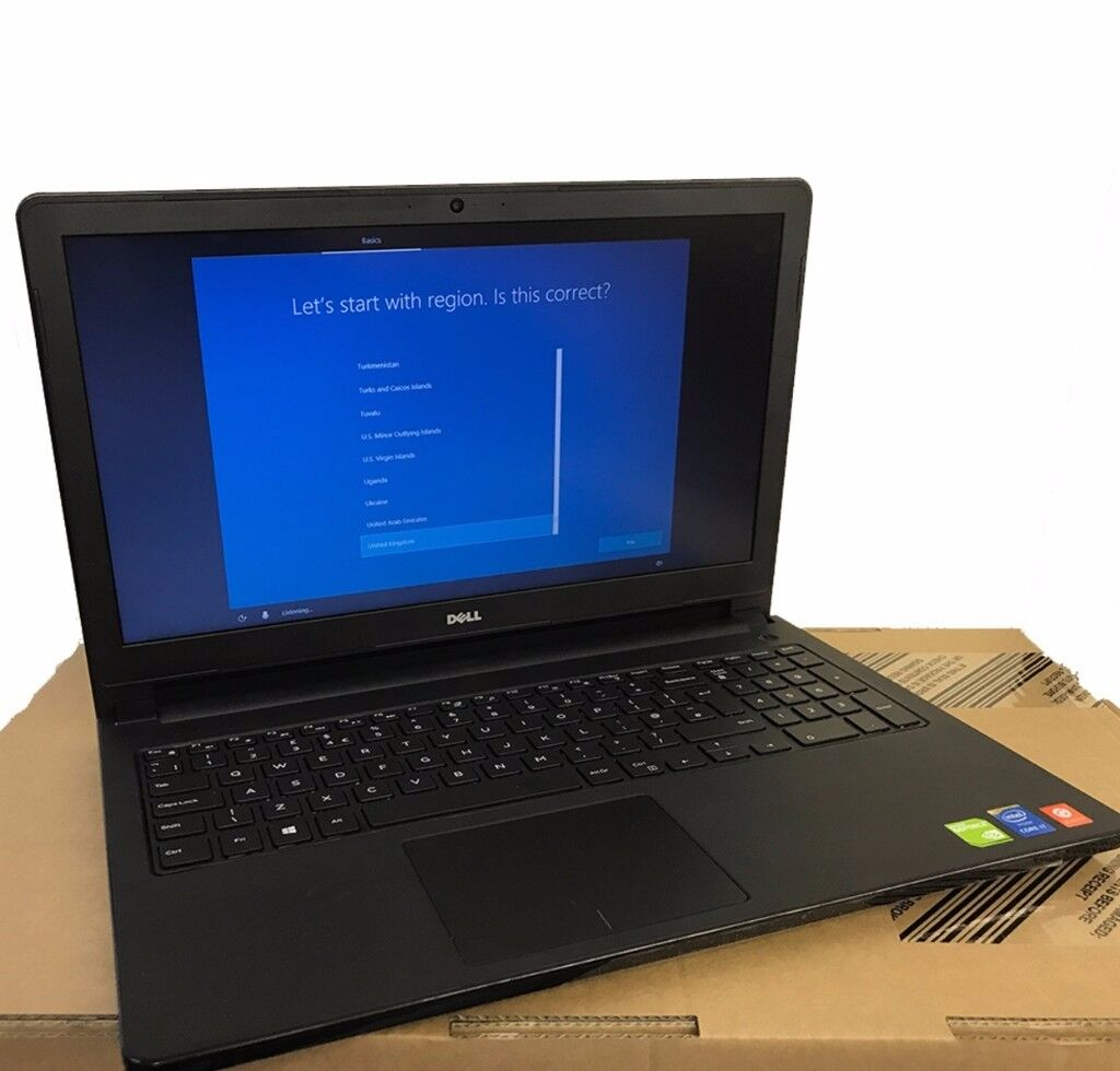 Dell Gaming Laptop, Nvidia 4GB Graphics, Intel i7, 16GB RAM, 2000GB HDD, USB 3.0, HDMI, Card Reader