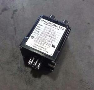 Macromatic SS-63122 Time delay relay