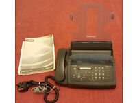 Philips Magic Vox, Home Work Telephone Answering Machine & Fax, Model PPF271B/05