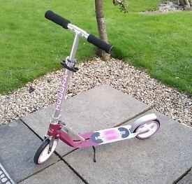 HUDORA Magenta/ Silber 205 Big Wheel Scooter, Good Condition