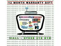 ☆ 12 MONTH GIFT VARIOUS BOXES/ALL ACCESS/GLITCH FREE/MOVIES SPORTS CARTOONS DOCUMENTARY ☆