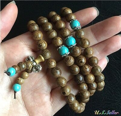 8mm-Sandalwood-Buddhist-Buddha-Meditation-108-Prayer-Bead-Mala-Necklace-Bracelet