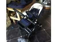 Bugaboo Cameleon3 Limited Edition Classic Navy With Carrycot & Footmuff