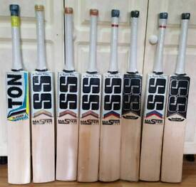 S S TON CRICKET BATS