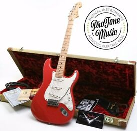 Fender Custom Shop Custom American Classic Stratocaster Fiesta Red & Case Candy