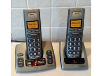 BT Freestyle 750 Digital Cordless Telephone + Answering Machine