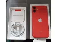 APPLE iPhone 12 mini 64GB PRODUCT RED UNLOCKED, SIM FREE, NO OFFERS OR TEXTS!