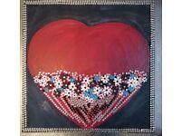 Oel Painting:Artist Anita Mary