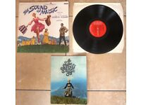 THE SOUND OF MUSIC - ORIGINAL VINTAGE 1965 SOUNDTRACK + VERY RARE UNIQUE? BOOKLET ... MUST BE SEEN