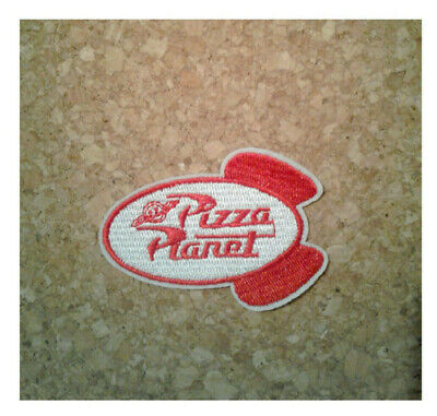 Pizza Planet - Buzz Lightyear - Movie - Astronaut - Embroidered Iron On Patch -