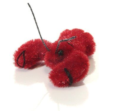 """World of Miniature Bear 1"""" Plush Lobster #5945 Collectible Miniature Lobster"""