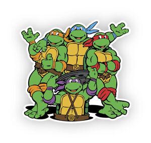 Teenage Mutant Ninja Turtles vinyl decal sticker