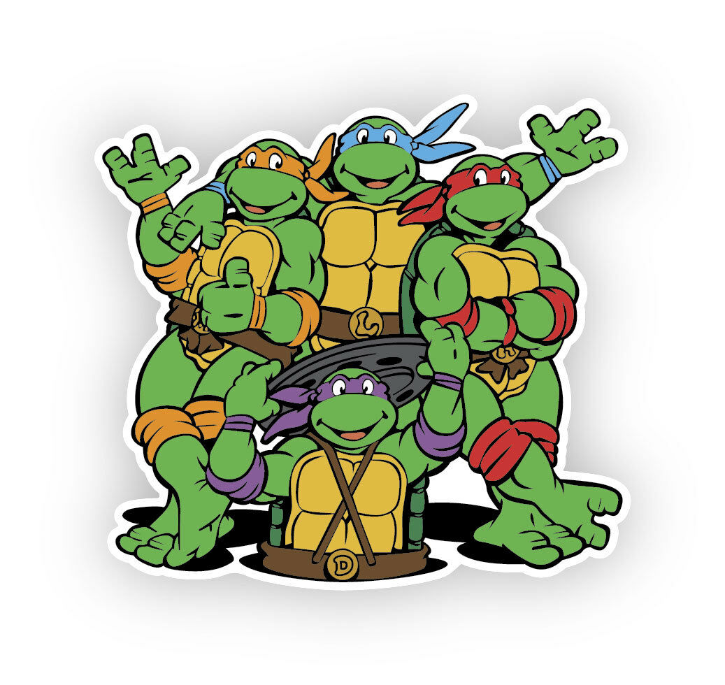 Home Decoration - Teenage Mutant Ninja Turtles vinyl decal sticker