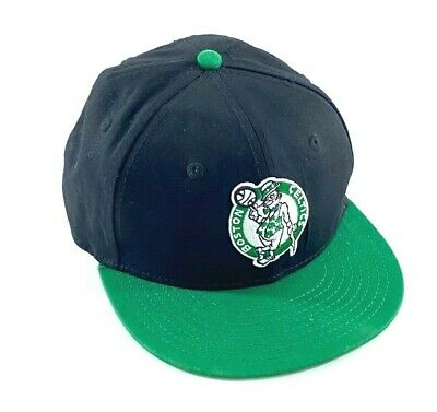 Youth Boston Celtics New Era Hardwood Classics snapback flat billed cap hat Boston Celtics Classics Flat