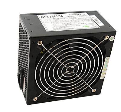 ATX Netzteil 780 Watt für PC Computer 140mm Lüfter Supersilent (780 Netzteil)
