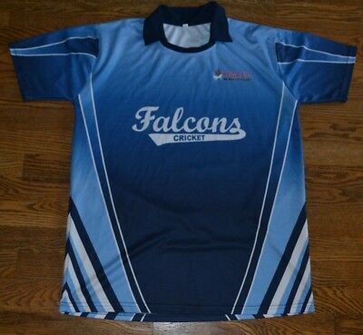 d982127790a Falcons Cricket Club Jersey Pegasys IT Large Nice India Northville Michigan   3