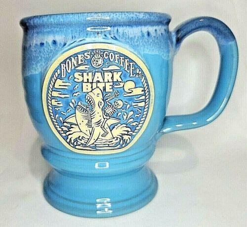 "2021 Bones Coffee Company "" Shark Bite "" Limited Edition  Mug"
