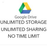 1 Unlimited Google Drive forr your existing account