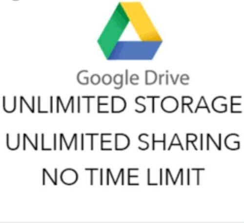 Lot Of 3 Unlimited Google Team Drive For Your Existing Account Lifetime